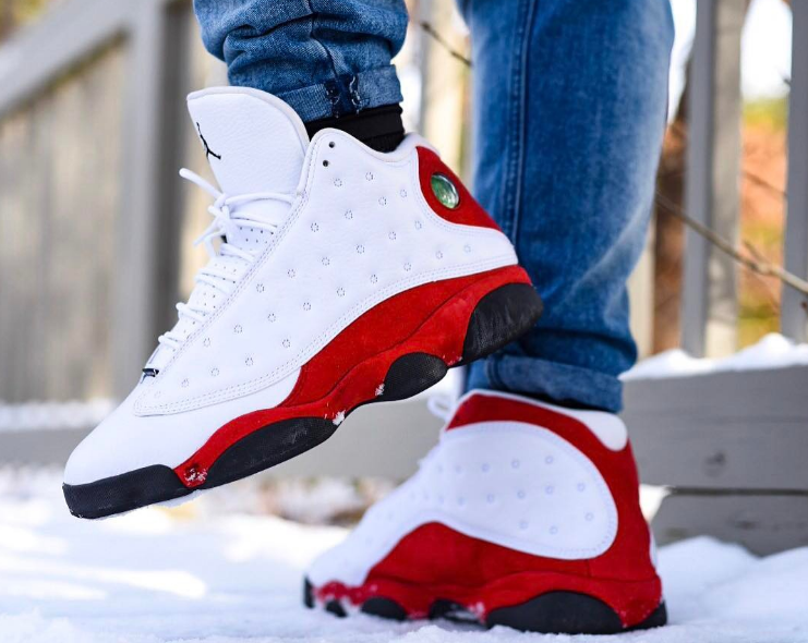 Air Jordan 13 XIII Retro OG 'White Team Red' Chicago Bulls 2017