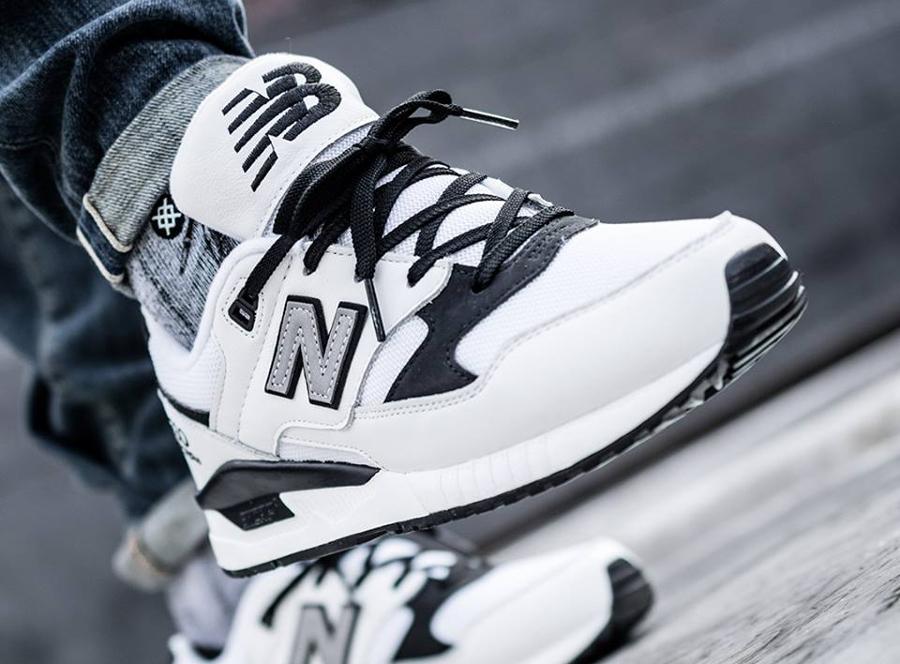New Balance M530LGA Encap 'White Black' (homme)