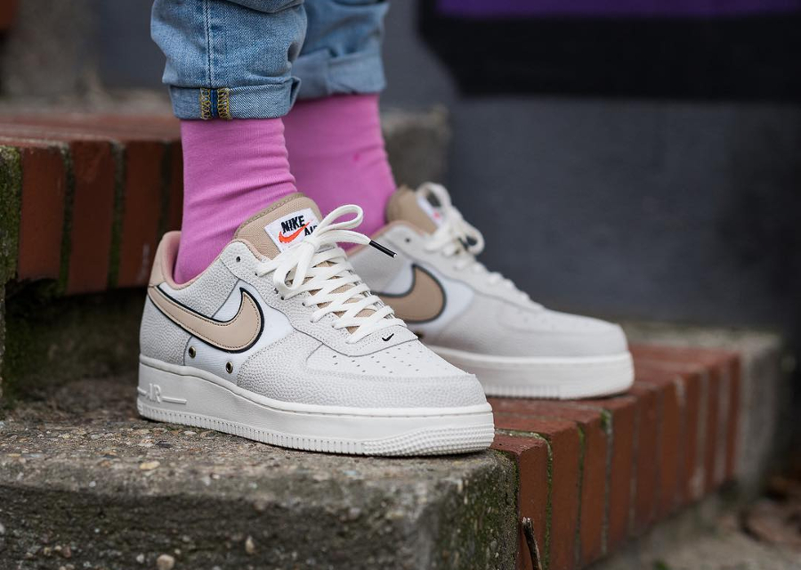 Nike Air Force 1 Low 07 LV8 'Croc' Sail Linen (homme)