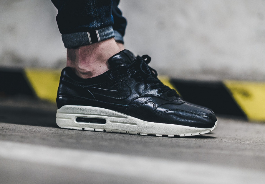 Chaussure Nike Air Max 1 Pinnacle Black (cuir premium noir) (1)