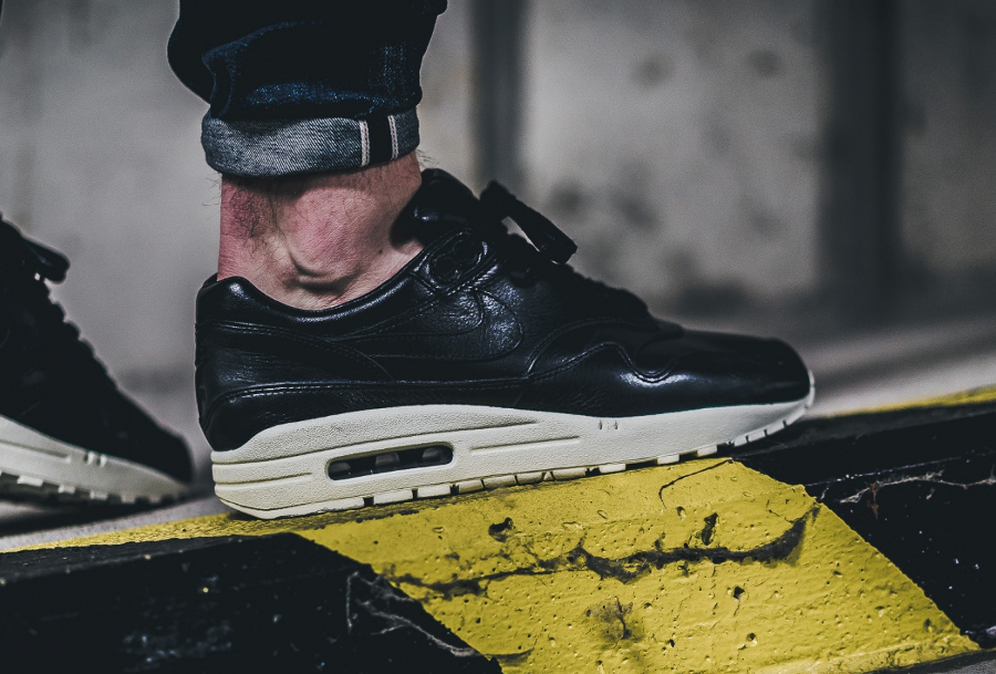 Chaussure Nike Air Max 1 Pinnacle Black (cuir premium noir) (2)