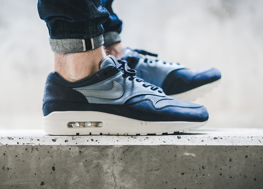 Chaussure Nike Air Max 1 Premium Pinnacle Ocean Fog (2)