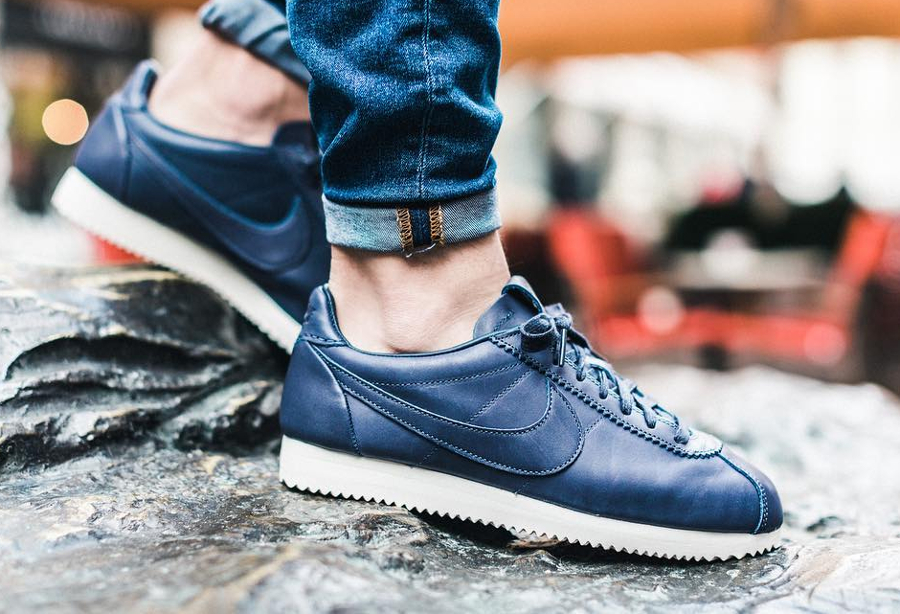 Le pack Nike Cortez Leather PRM QS TZ 'Monochrome'