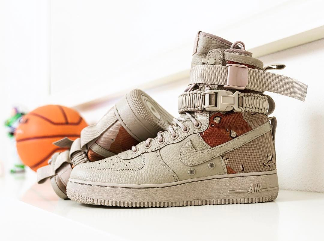 Nike Special Field Air Force 1 SF AF1 'Desert Sand Camo'