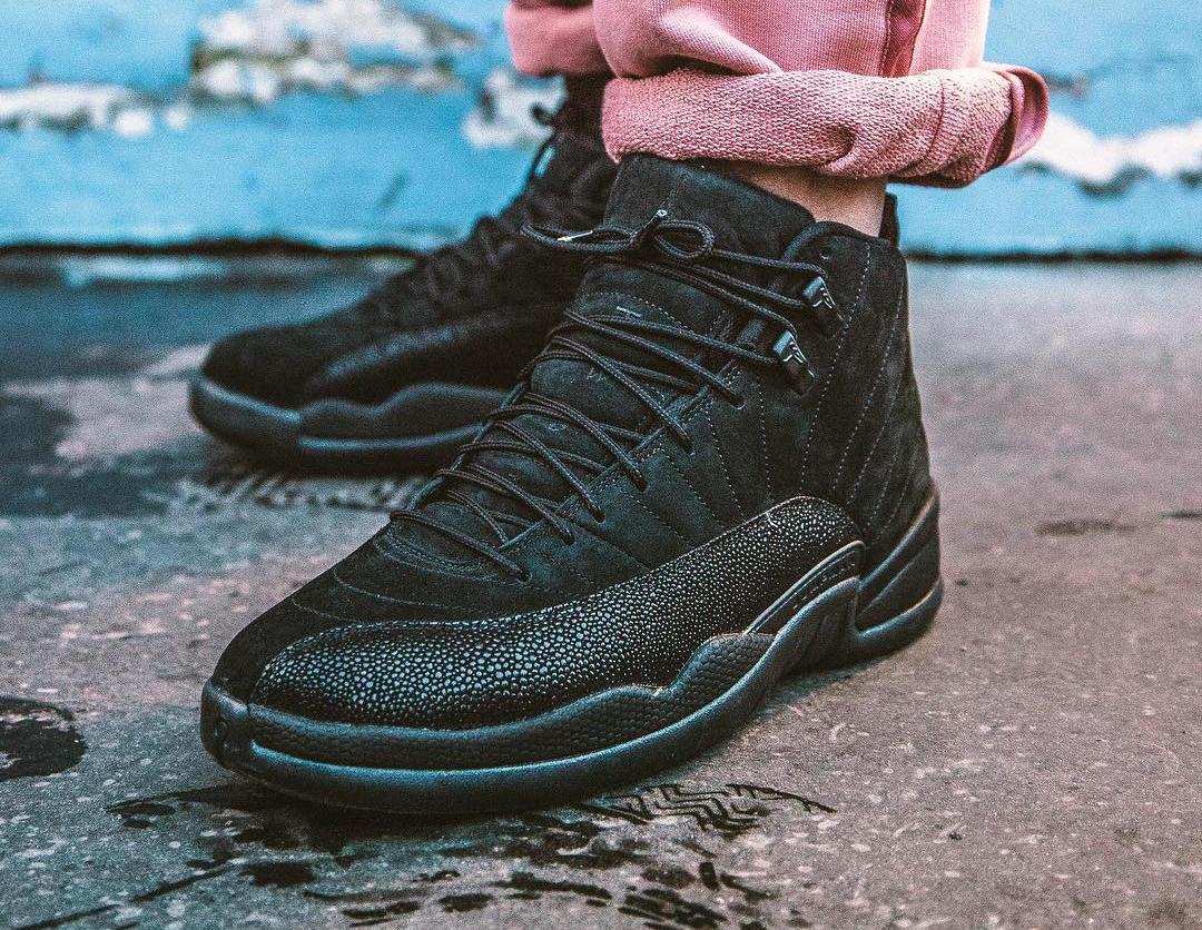 Chausure Air Jordan 12 Retro OVO October's Very Own Black Gold