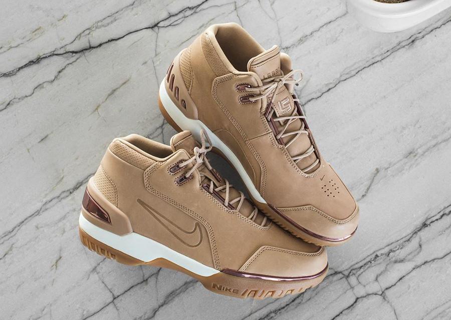 Nike LeBron Air Zoom Generation AS QS Vachetta Tan