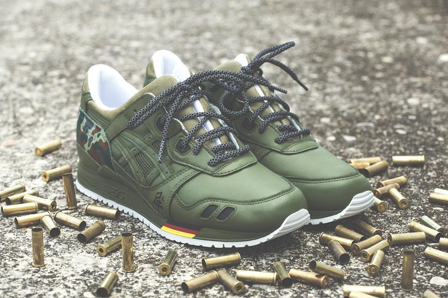 Asics Gel Lyte 3 'German Camo' (style militaire)