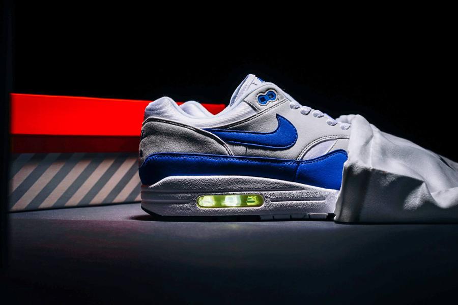 Nike Air Max 1 OG 'Blue' Game Royal Anniversary 2017