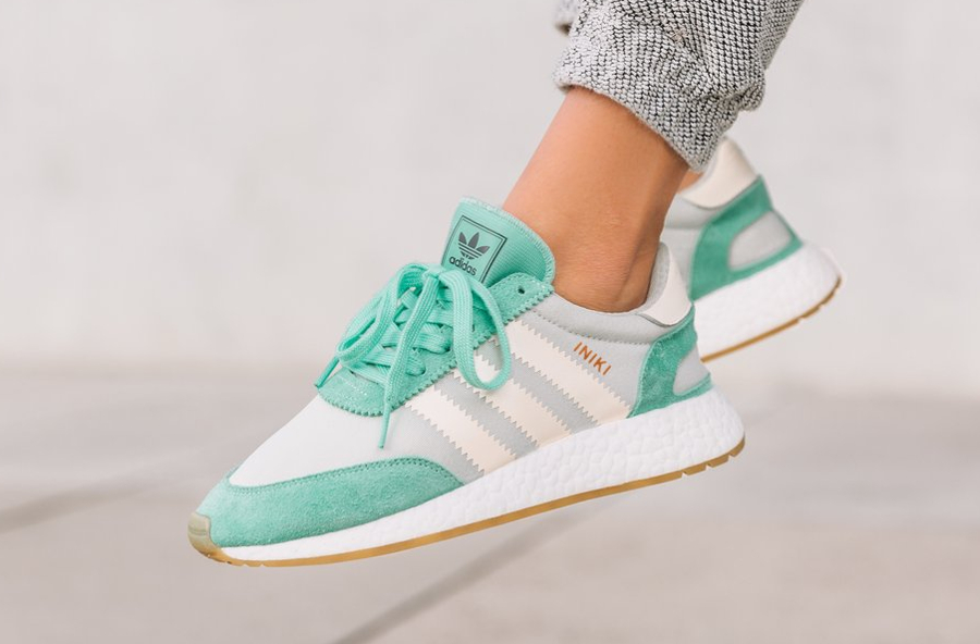 adidas iniki runner boost w 39 mint 39 easy green femme. Black Bedroom Furniture Sets. Home Design Ideas