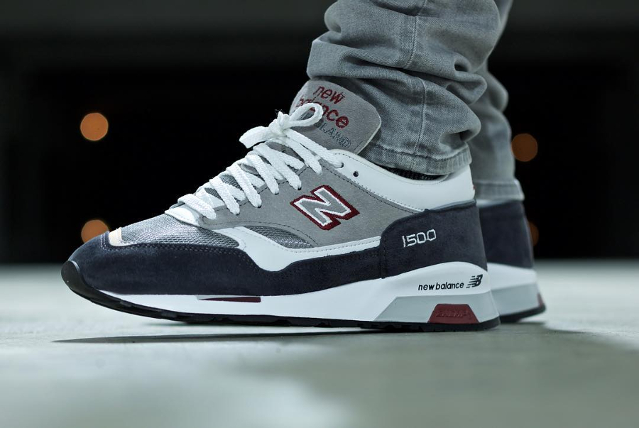 New Balance M1500GRW Grey White (Made in England)