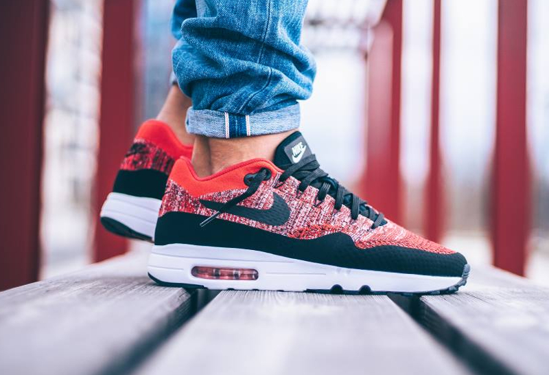 Nike Air Max 1 One Ultra 2.0 Flyknit 'University Red'