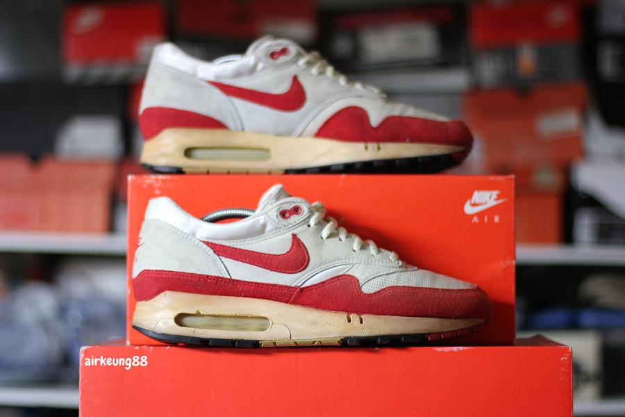 Nike Air Max 1 OG Red 1986