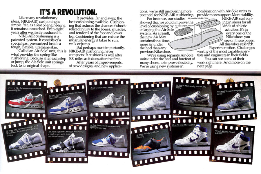 Nike Air Pack publicité