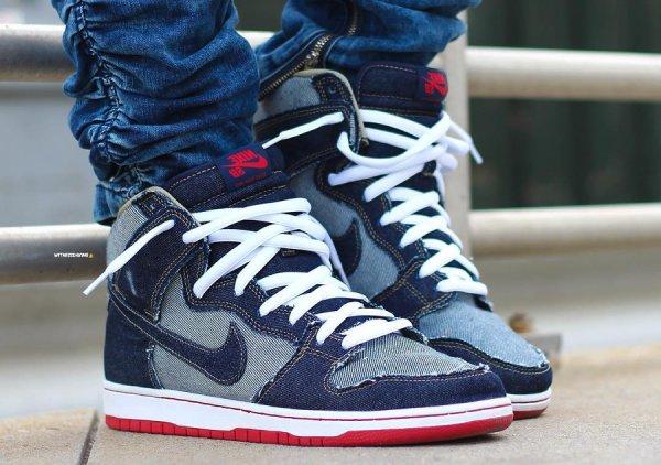 Nike Dunk Hi SB 'Reese Denim' (15ème anniversaire)