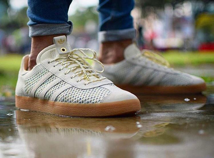 Sneaker Politics x Adidas Gazelle PK Mardi Gras - @khai_riot
