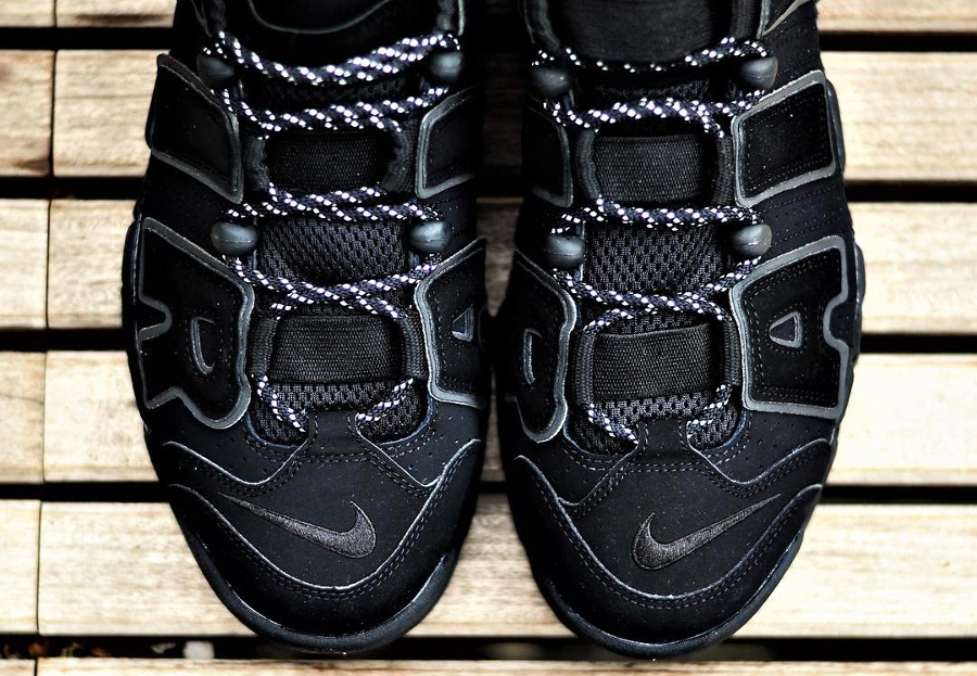 Basket Nike Air More Uptempo 'Triple Black' (3)