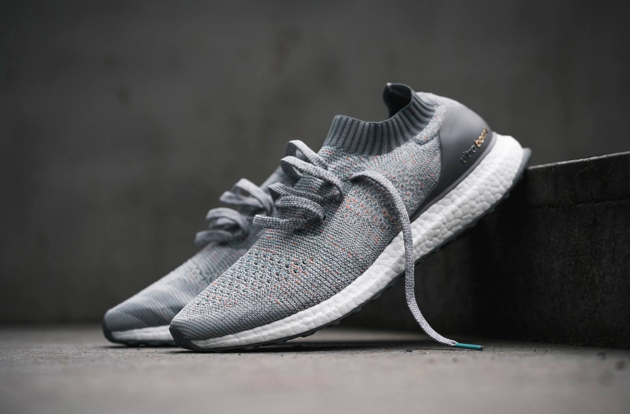 Chaussure Adidas Ultra Boost Uncaged Grise Clear Grey Multicolor