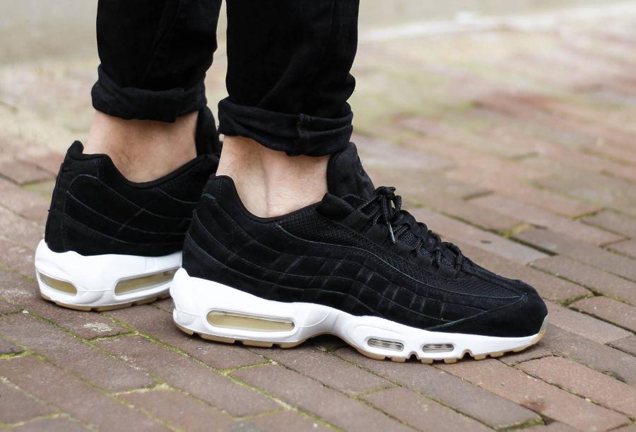 Chaussure Nike Air Max 95 PRM Noir Black Gum (homme) (1)