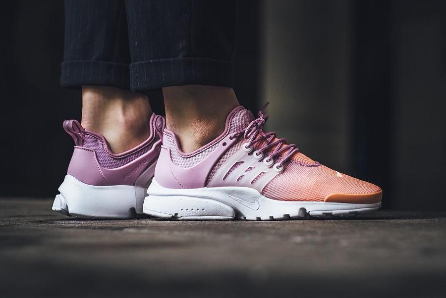 Chaussure Nike Wmns Air Presto Ultra BR Breathe Sunset Glow'(dégradé rose) femme (3)