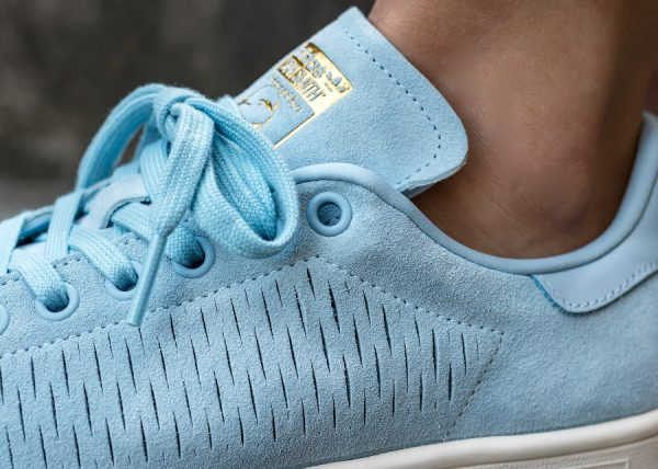 Adidas Stan Smith Perforated Suede W 'Easy Blue'