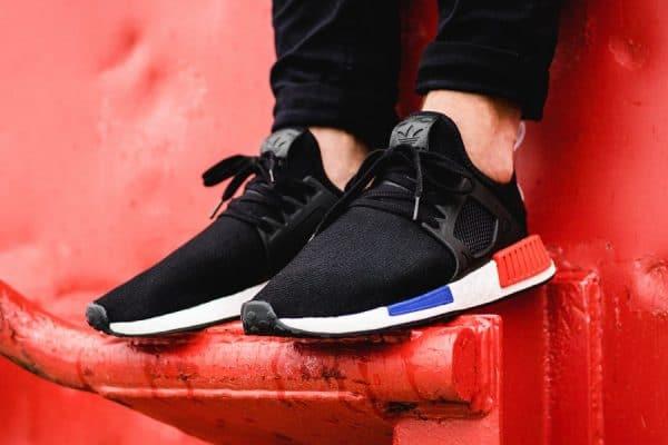 Adidas NMD XR1 Primeknit 'OG' Black Red Blue