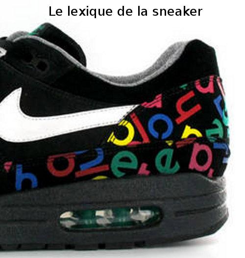 Le jargon (ou le lexique) de la culture sneakers