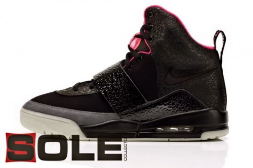 Authentique Nike Air Yeezy Black Pink