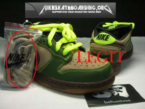 Authentique Nike Dunk Pro SB Jedi