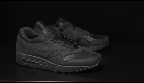 nouveau concept a2bf9 663a1 Chaussures Nike Air Max 1 noire - Basket Air Max 1 homme & femme