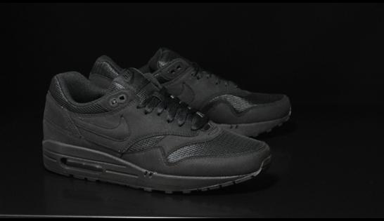 Nouveau modèle basket Nike Air Max 1 «Black»