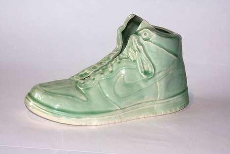 6 magnifiques sculptures Nike Dunk en céramique par Kang S. Lee