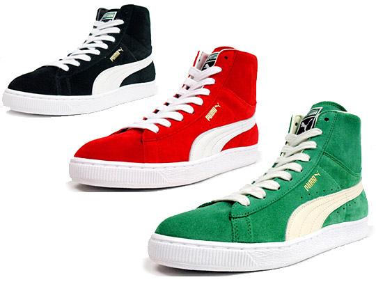 Collection chaussures Puma (Alexander Mc Queen, Hussein