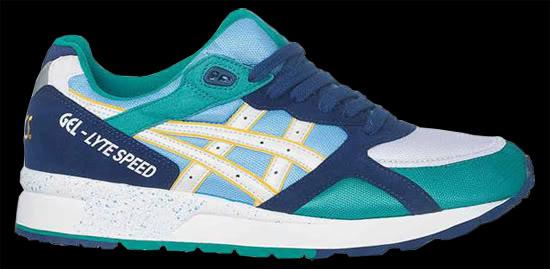 Collection sneakers Asics 2011 – Gel Lyte 3 Zillion, Huf, SNS et Asics Gel Speed OG Colours Pack