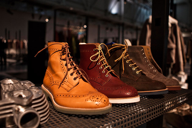 Nouvelle collection de chaussures Tricker's (Brogue, Country Boots…) 2011