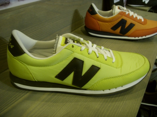Collection New Balance (RC 400, 420, 410, 1500) automne hiver 2011 @ Who's Next