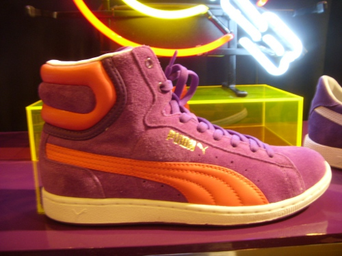 Collection Puma Clyde, Suede, First Round, Dallas automne hiver 2011 @ Who's Next