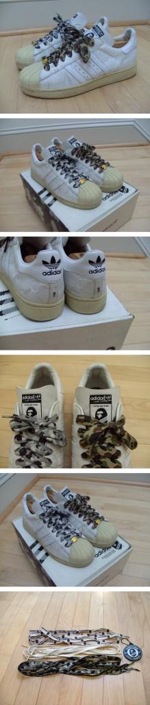 Les sneakers les plus chères du monde – Adidas Super Ape Star, Puma Hard Rock Hotel, Vans Sk8 hi Junya Watanabe, Nike Dunk Undefeated