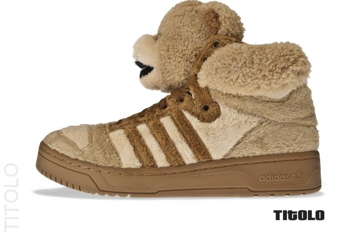 Sneakers à acheter – Adidas Originals By Originals Jeremy Scott Teddy Bears @ Corner Street