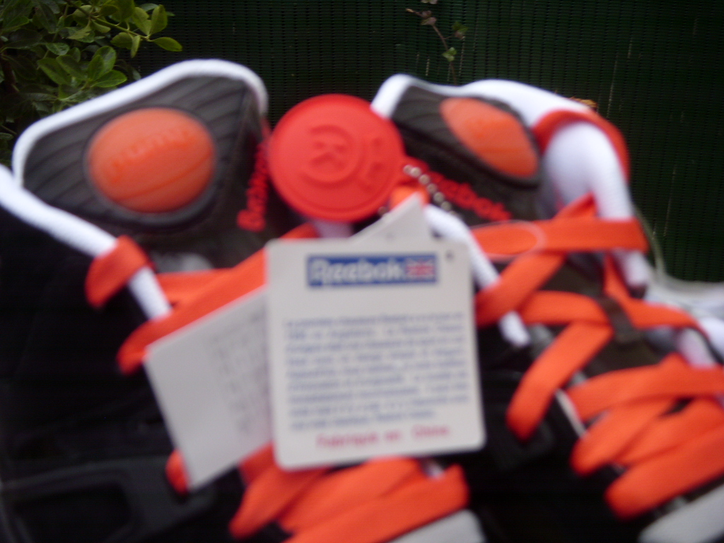 Sneakers de collection – Reebok Pump Bringback 20th Anniversary 24 Kilates