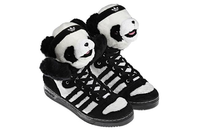 La séance de rattrapage Adidas Jeremy Scott Panda Bears