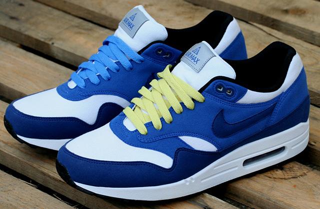 Shopping list – Nike Air Max 1 ACG Varsity Royal Blue / Black & Green / Velvet Brown