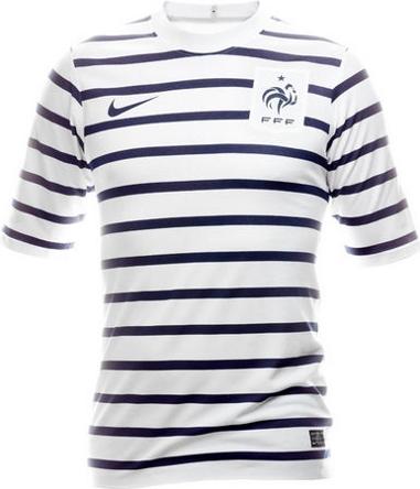 Le nouveau maillot nike ext rieur de l 39 quipe de france for Maillot exterieur xv de france
