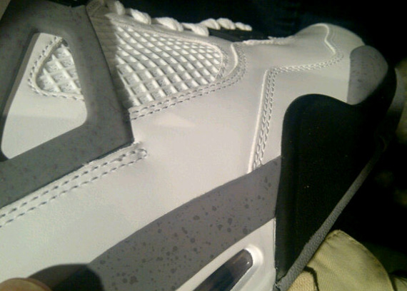 Air Jordan IV – White – Cement