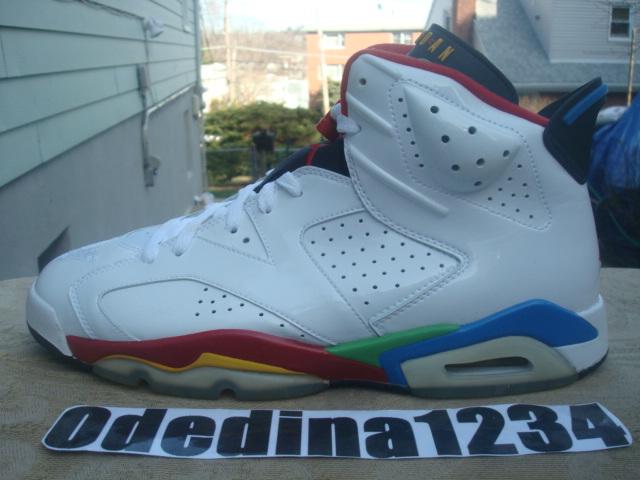 Air Jordan (VI) 6 Olympic – Fiche Air Jordan