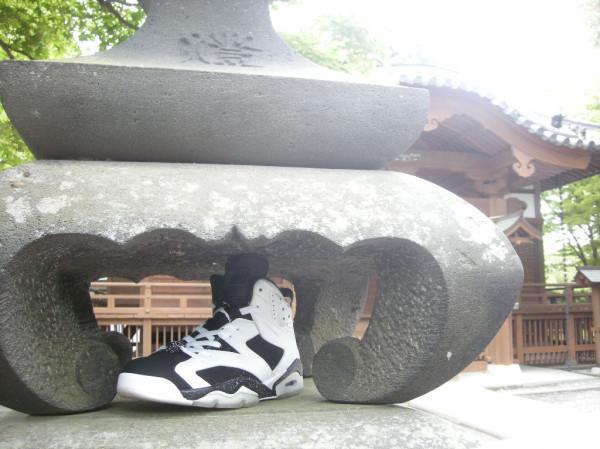 Les photos du jour - La Air Jordan (VI) Oreo au temple.....