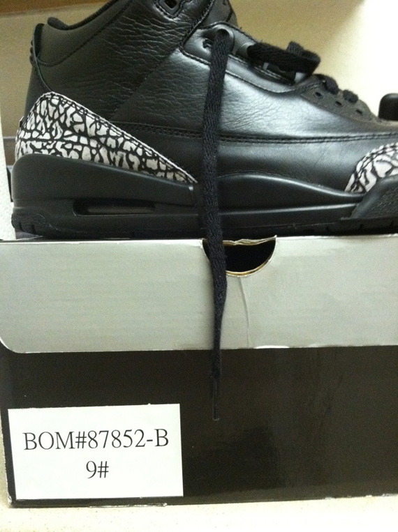 Sample – Les modèles Air Jordan (III) 3 Black Cement Grey et Air Jordan (XI) 11 White Orange