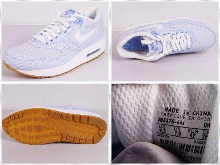 free shipping 49966 b54d8 Nike Air Max 1 Microstripe ou Seersucker ...
