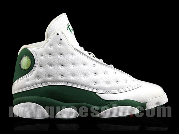 La Air Jordan 13 Ray Allen Boston Home PE à la House Of Hoops en juillet ?!!!