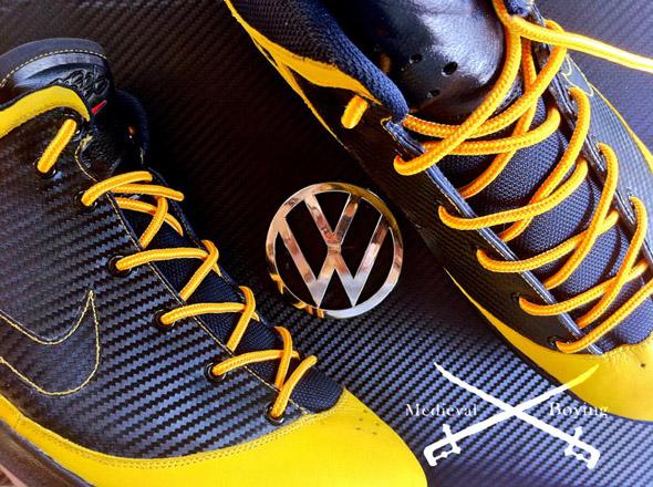 """Nike Lebron 7 PS """"Bumble Bee"""" Volkswagen Beetle"""