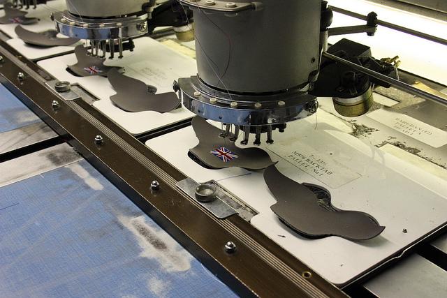 L'usine de fabrication de New Balance à Flimby